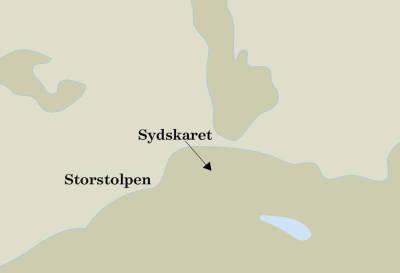 Storstolpan-Kvaløya-kart