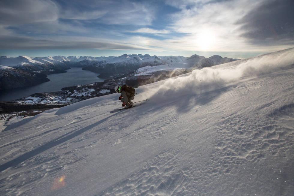 strandafjellet offpiste ski guide