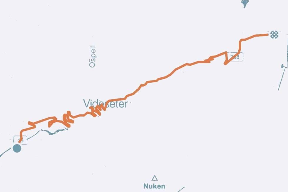 Stryn Strynefjellet sykkel landevei