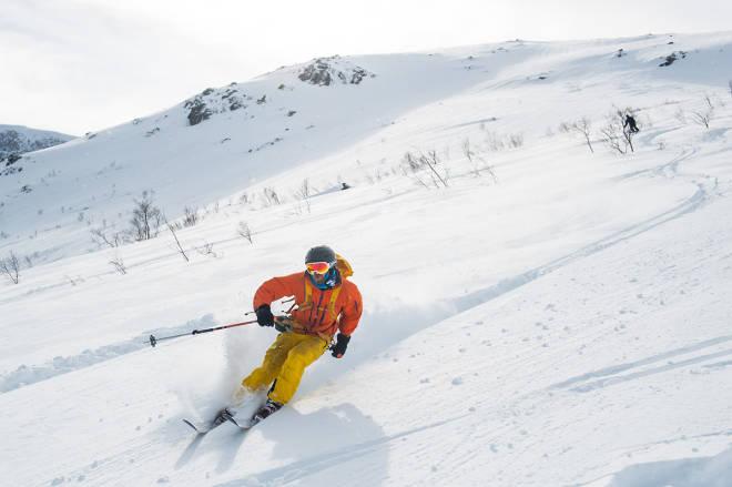 STORE FJELL: Sunndal Ski Session byr på store opplevelser i store fjell. Foto: Arild Bjerkan