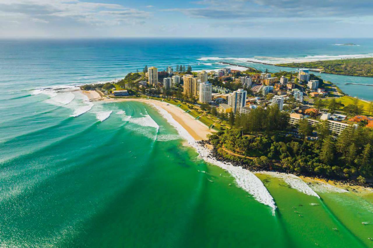 Superbank er i Queensland er kjent for å være ekstremt folksom. Ikke uten grunn.