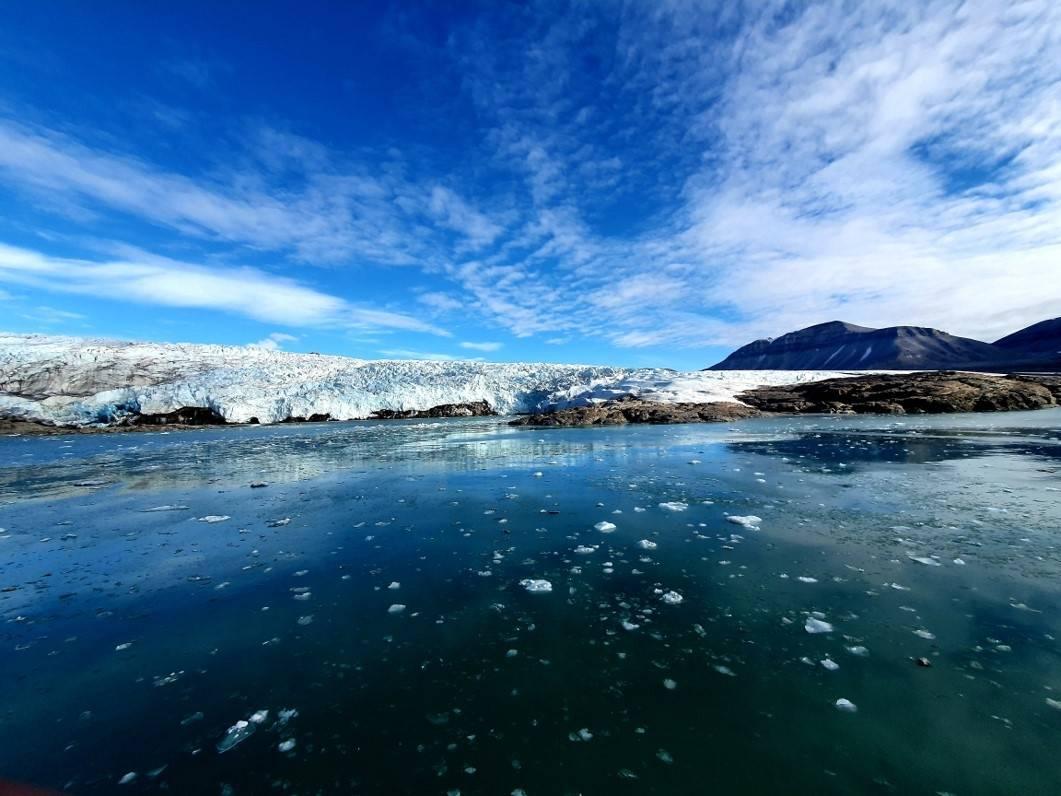 Nordenskiøldbreen Foto Leif Riis
