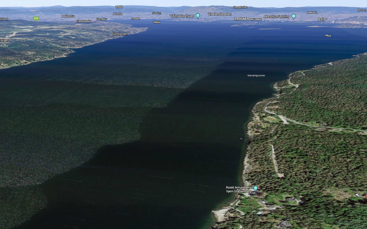 Bunnefjorden kan være bra på både sørlig og nordlig vind. Mange seiler ut fra Roald Amundsens barnehjem.