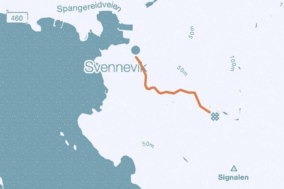 Svenneviksbakken-kart
