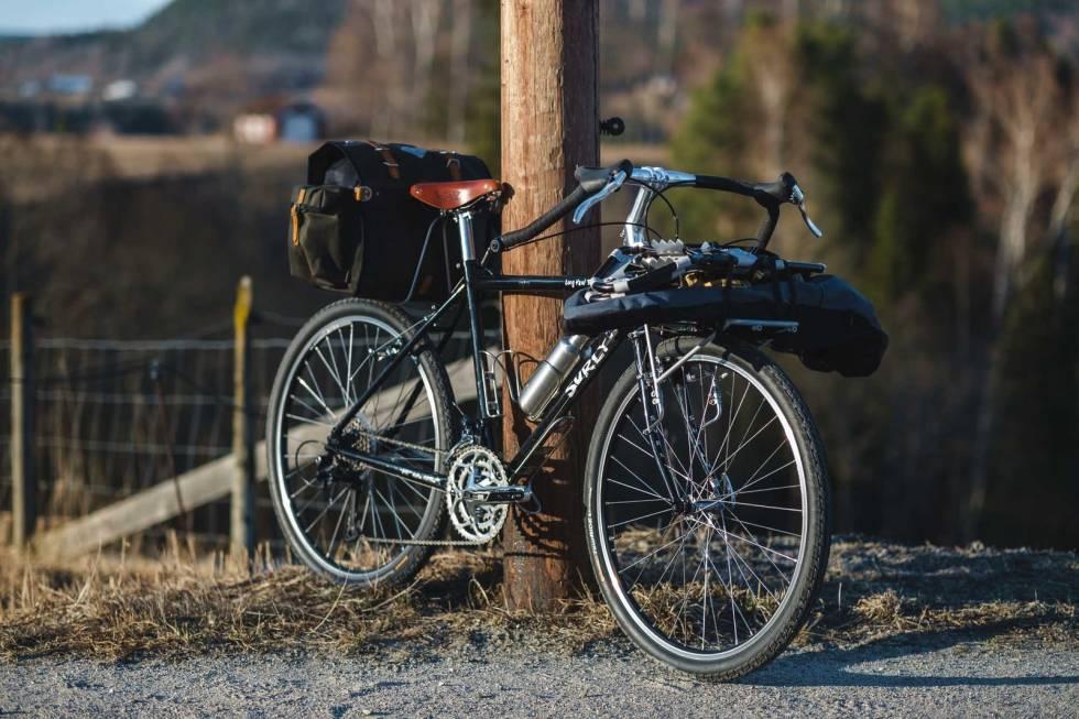 sykkeltur truger bikepacking