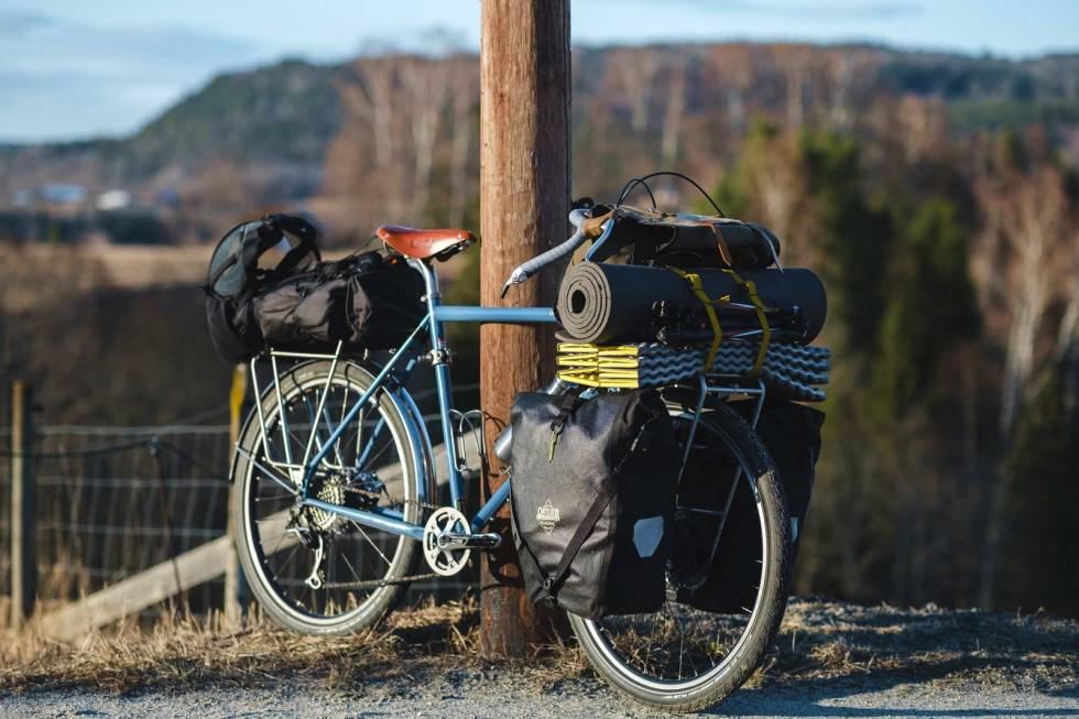 sykkeltur truger