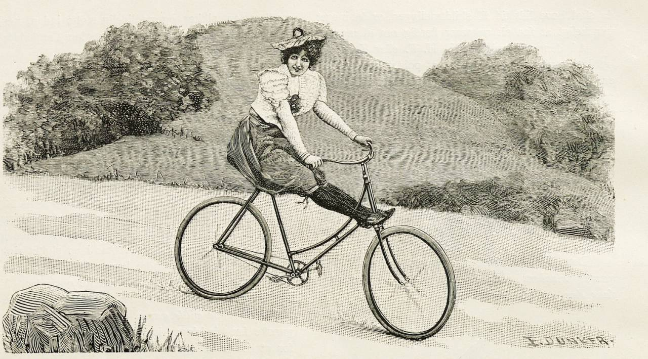 sykkel og kvinnefrigjøring
