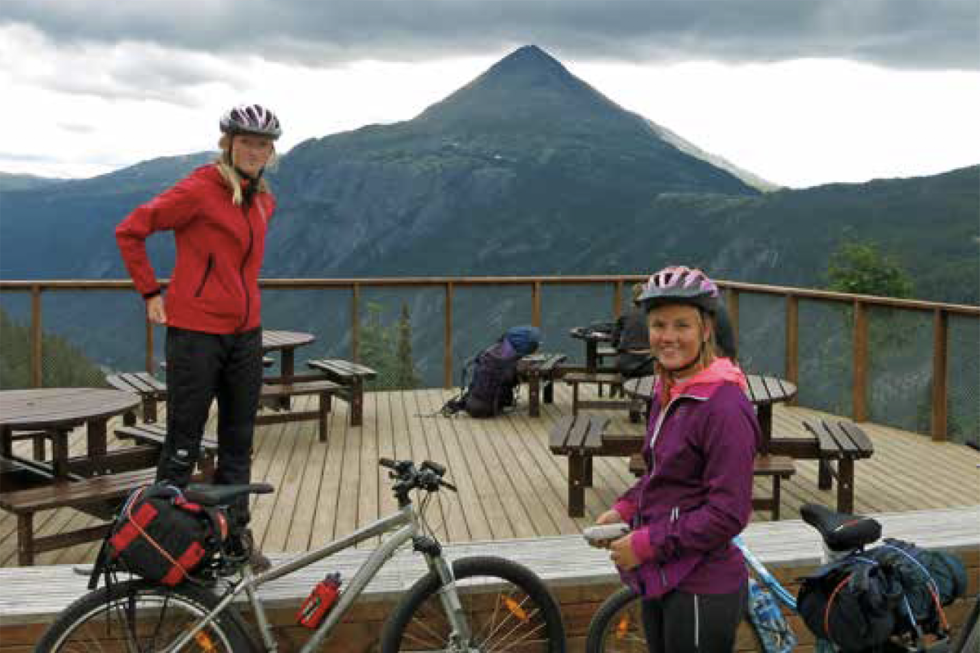 Sykkeltur til Kalhovd Rauland Telemark Guide