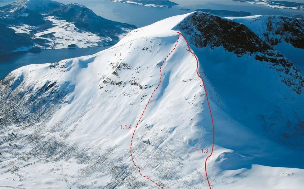 Tarløysa 1086 moh Toppturer i Romsdalen