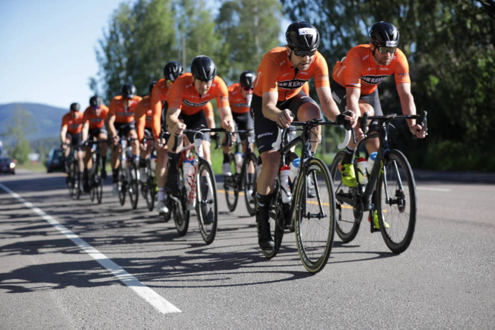 Team Kjekkas skal sykle Trondheim-Oslo
