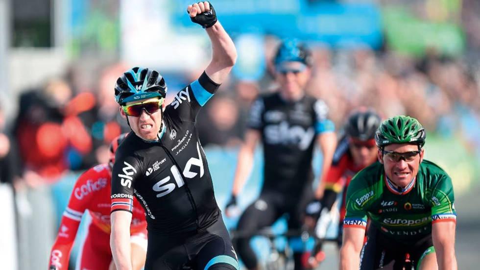 LAPPE FTW: Lars Petter Nordhaug vinner den første utgaven av sammenlagtrittet Tour de Yorkshire.
