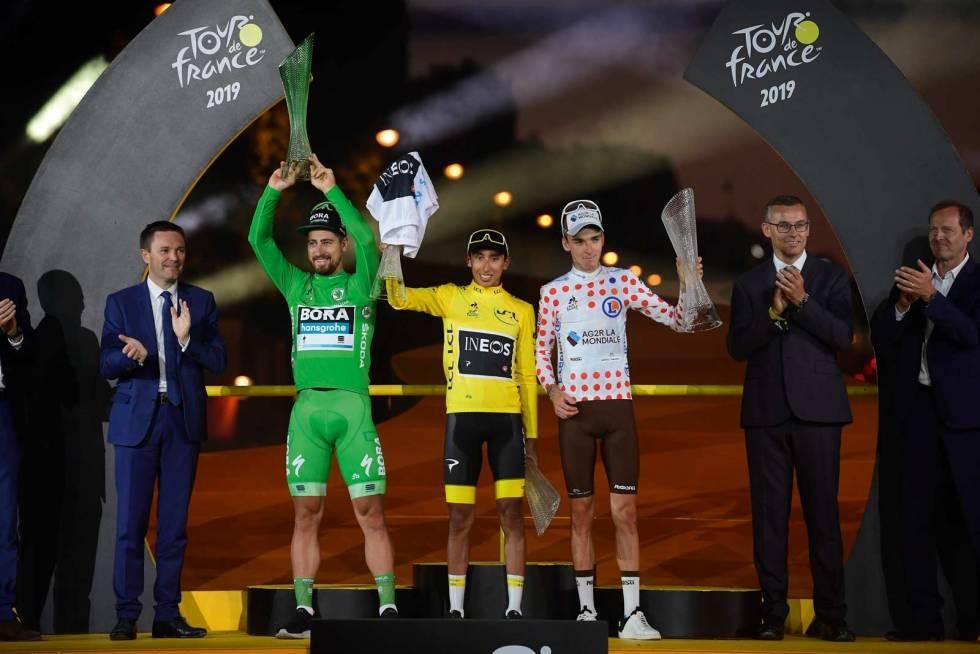 YNGSTE VINNER: Egan Bernal vinner Tour de France 2019, 22 år gammel. Foto: Cor Vos.