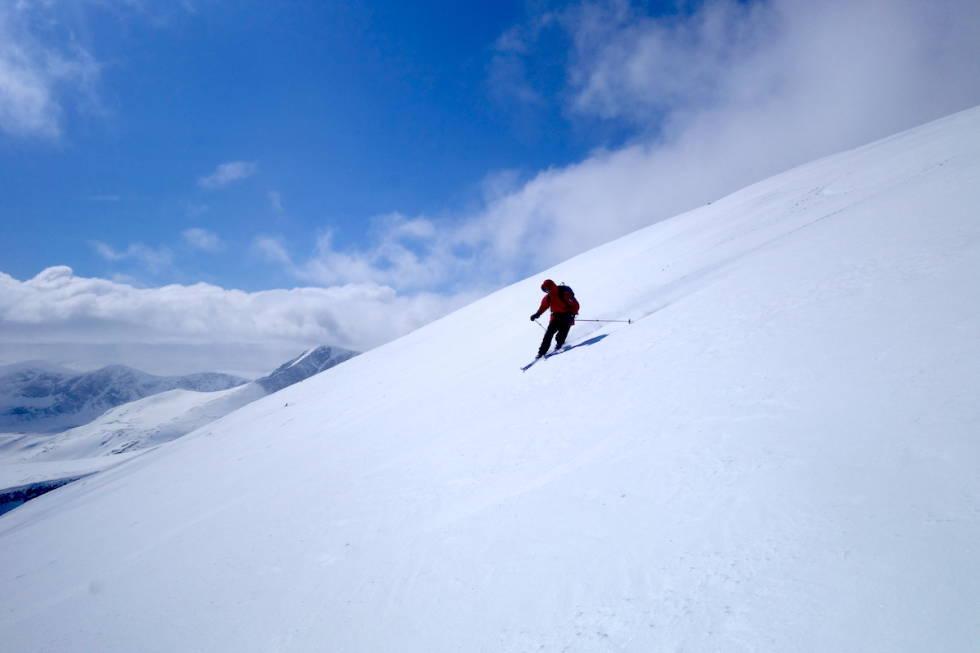telemarkssving Snøhetta dovrefjell
