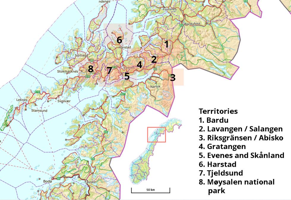 Arctic Ice Climbing map Christian Dramsdahl