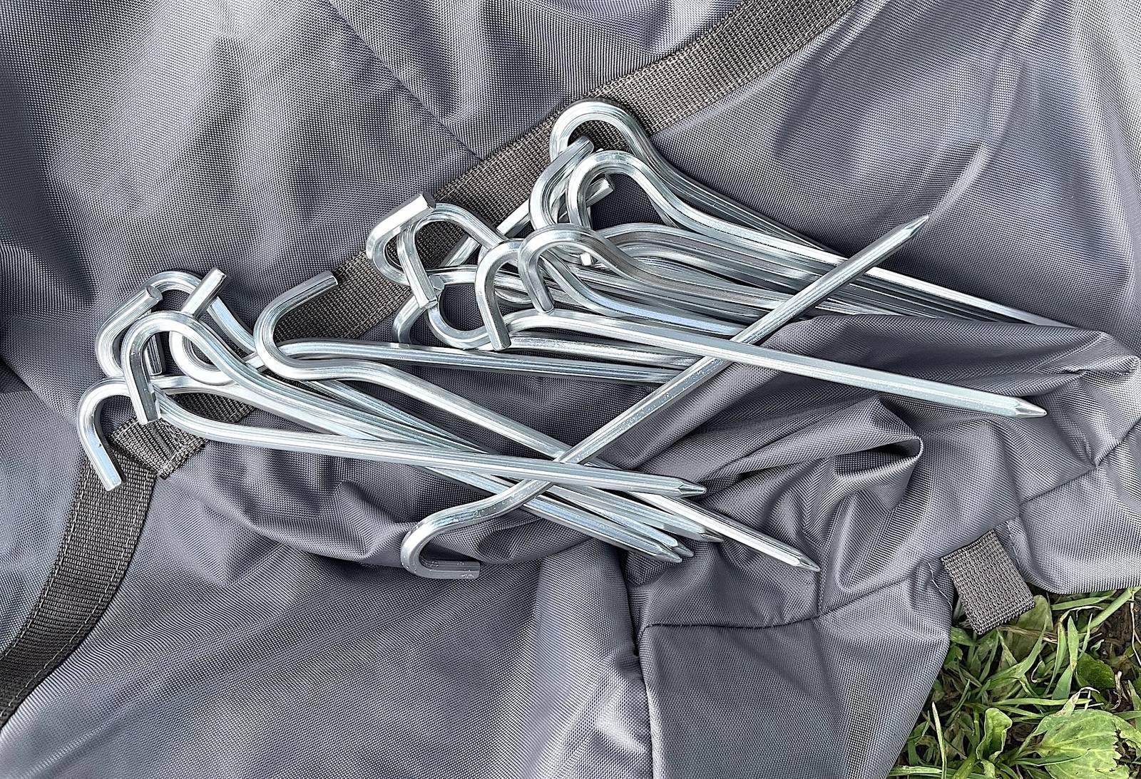 test av bergans wiglo teltplugger