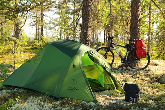 test av heldre vidde 3 camp telt