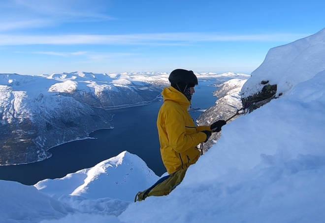 Norrøna Lofoten anorak test topptur frikjøring