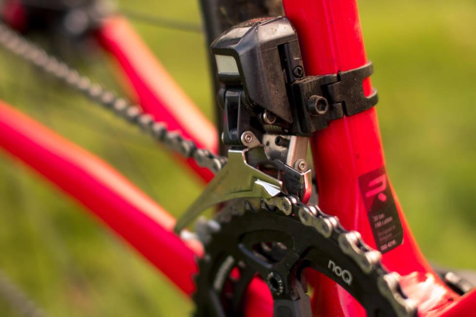TODELT: Syklene leveres nå med todelt oppsett, etter mange år med endelt oppsett fra SRAM.