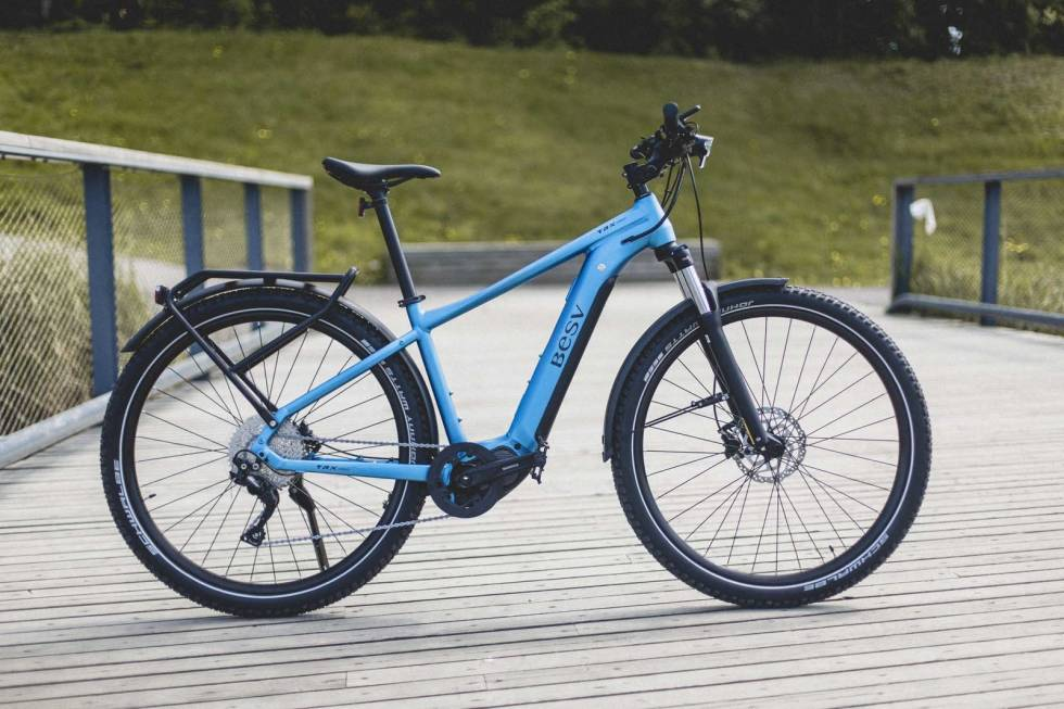 test besv trx urban elsykkel