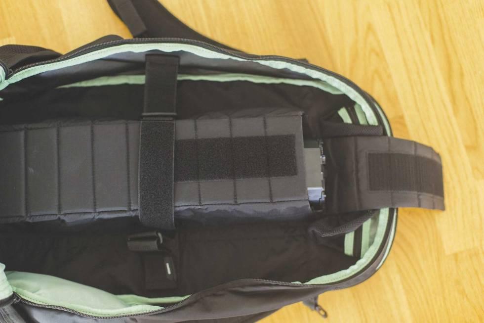 test evoc fr trail eride elsykkel sekk batteri