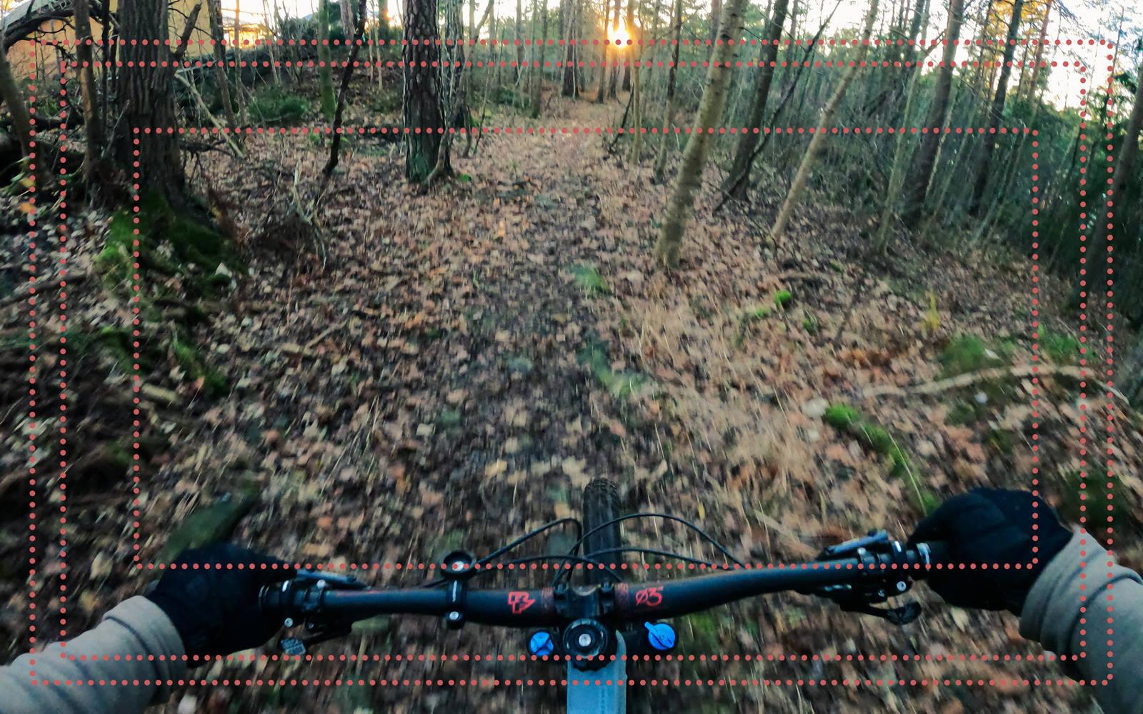 GoPro vidvinkel Superview