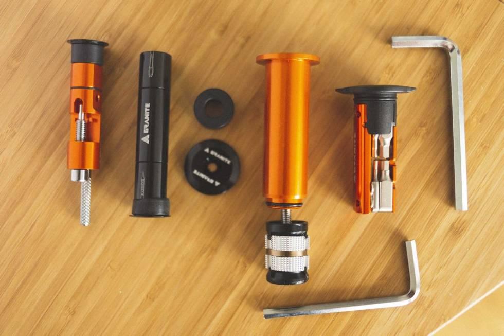 test granite design stash verktøy sykkel