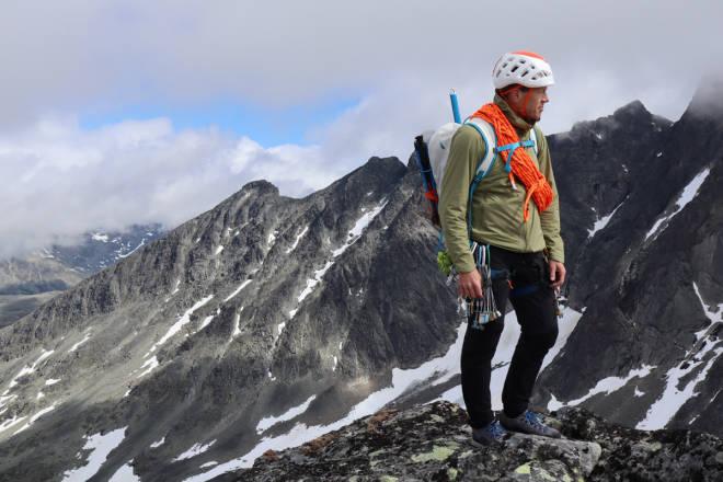 test klatrebukse fjellklatring Mammut