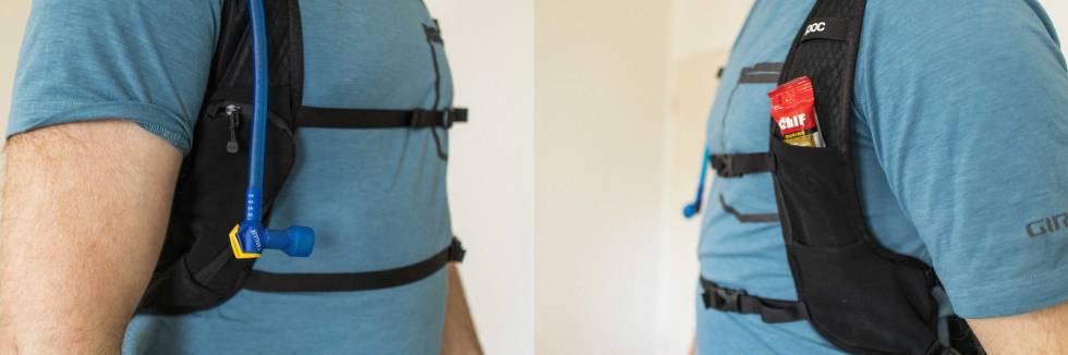 test poc spine vpd air backpack vest drikkesekk