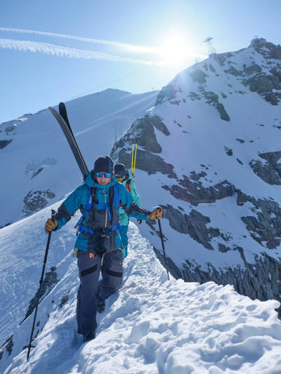 test skallklær ski topptur frikjøring engelberg