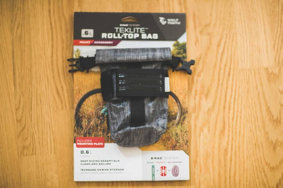 test wolf tooth teklite rolltop bag