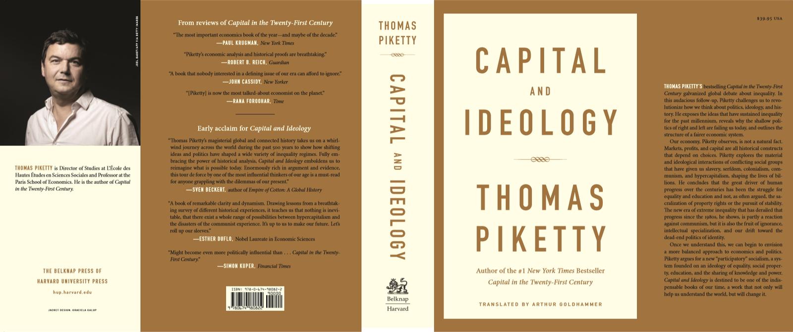 En av Nikolai Schirmers favoritter. Capital and Ideology av av den franske økonomen Thomas Piketty