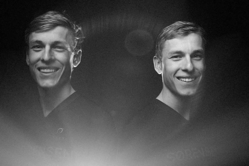 Tobias og Anders Halland Johannessen. Foto: Kristoffer Kippernes