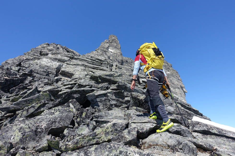 gjuratind topptur Romsdal