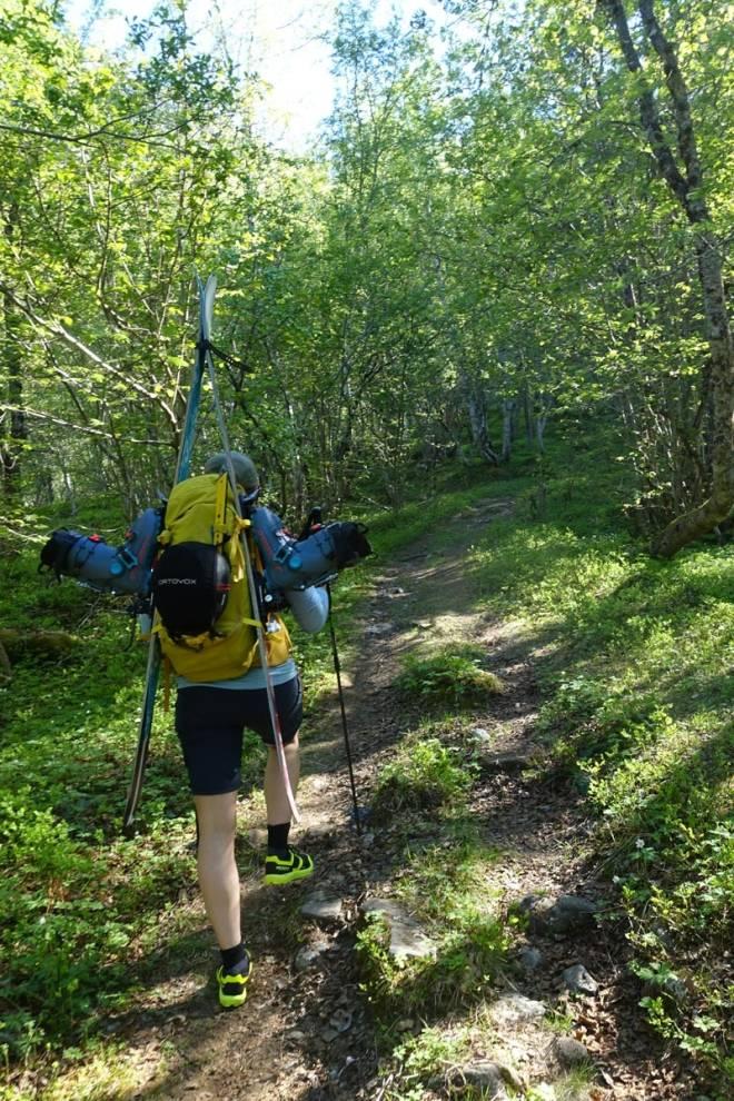gjuratind topptur Romsdali