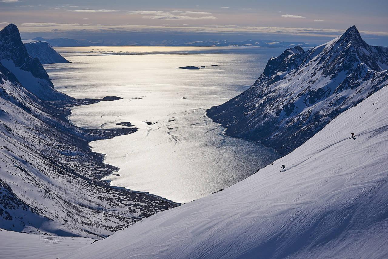 topptur på senja indre selfjord