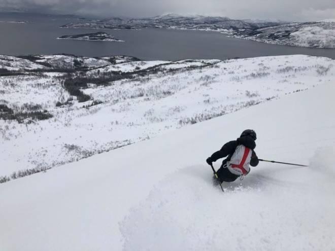Christian Dramsdahl påske harstad topptur