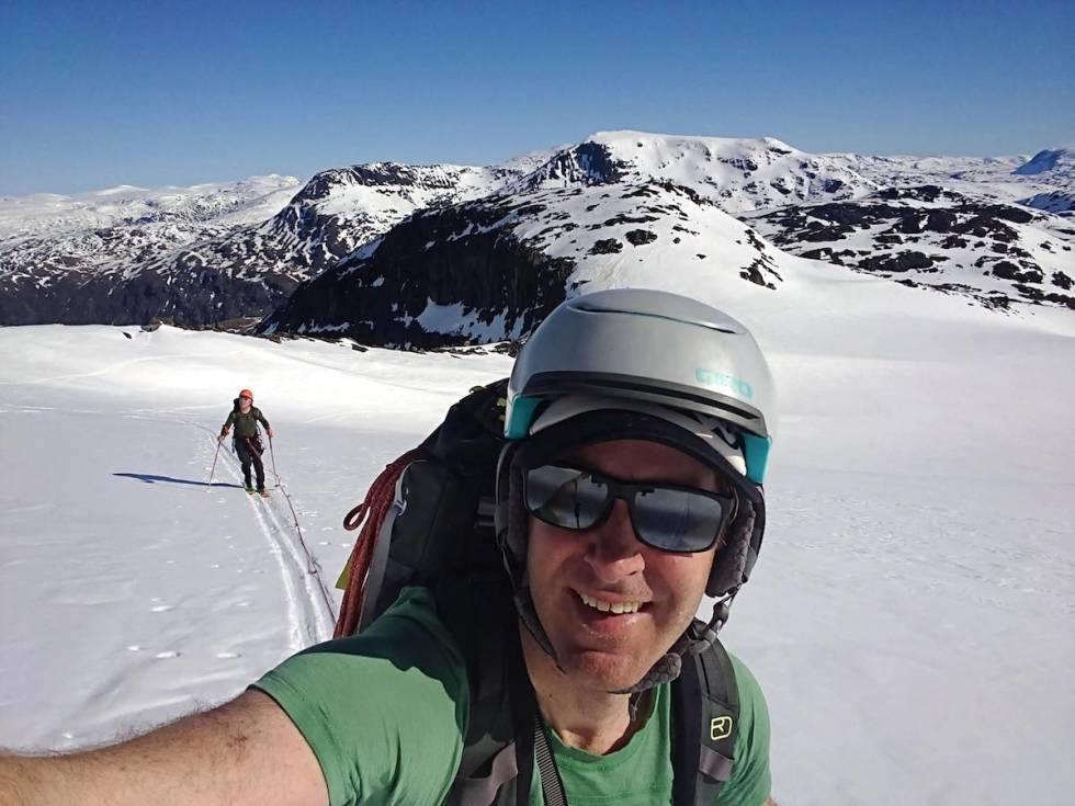 Gjertvassbreen skitur med tau