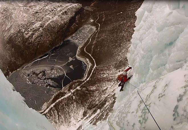 isklatring Tågbekken