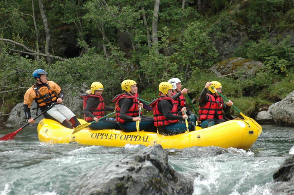 Rafting guide Driva Oppdal UTEmagasinet Fri Flyt