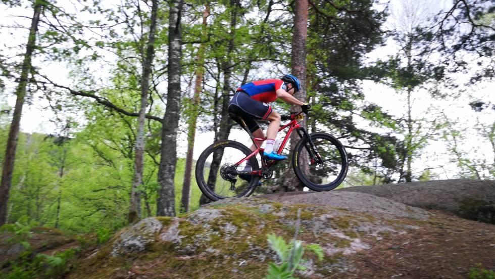 Torjus Bern Hansen var raskest av menn senior i testrittet på skullerud