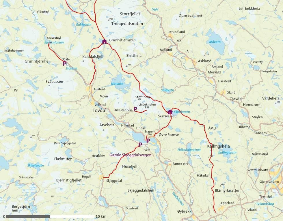 Tovdal-Kart