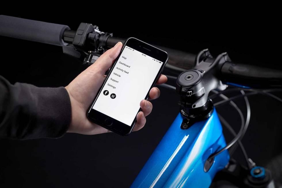 trek e-caliber fazua elsykkel app