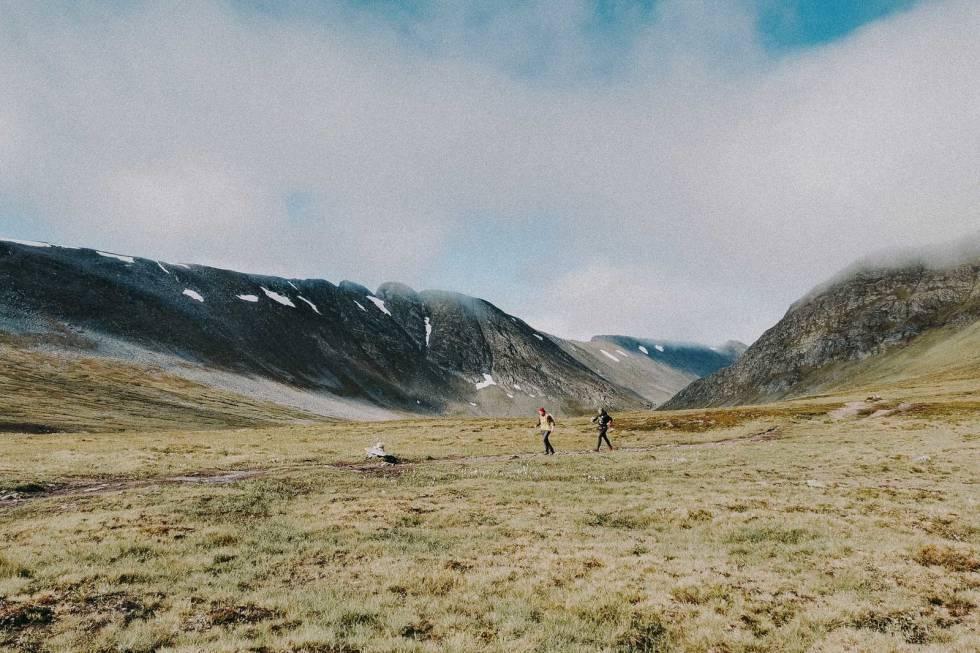 SLETTE-TID: Med retning mot Gjevilvasshytta. Foto: Gunhild Aaslie Soldal