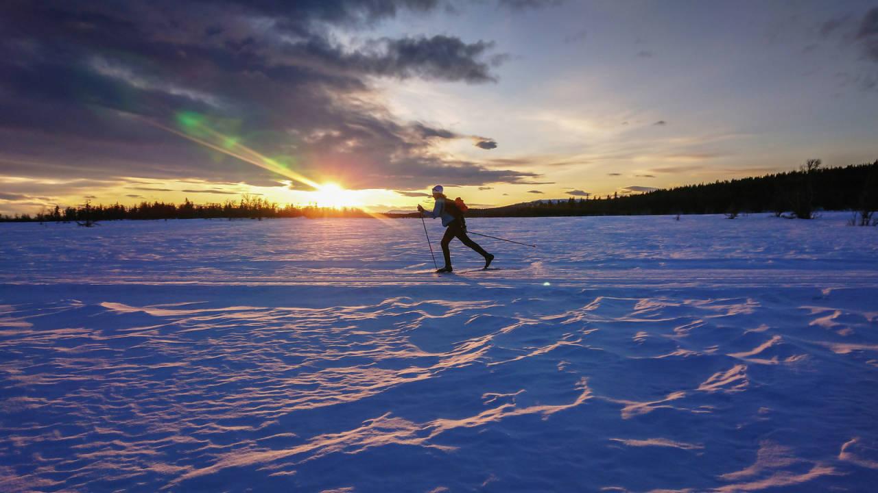 trolløypa skitur langrenn