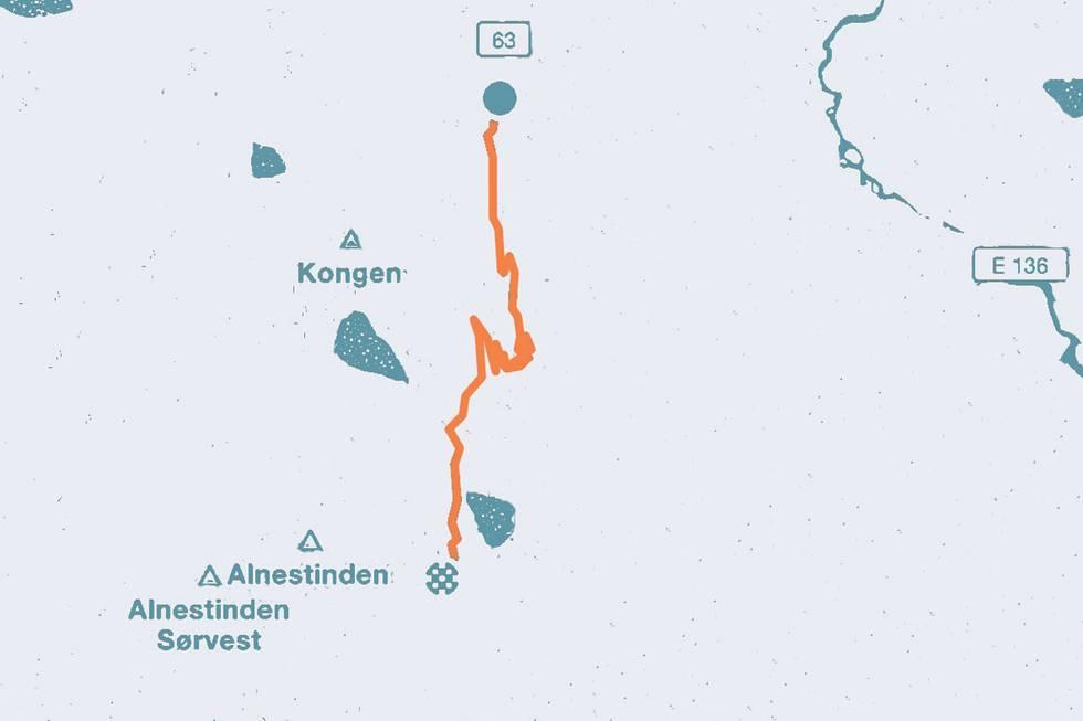 Trollstigen landevei motbakke bakkesykling 71 bakker du må sykle i Norge guide landevei cycling fri flyt
