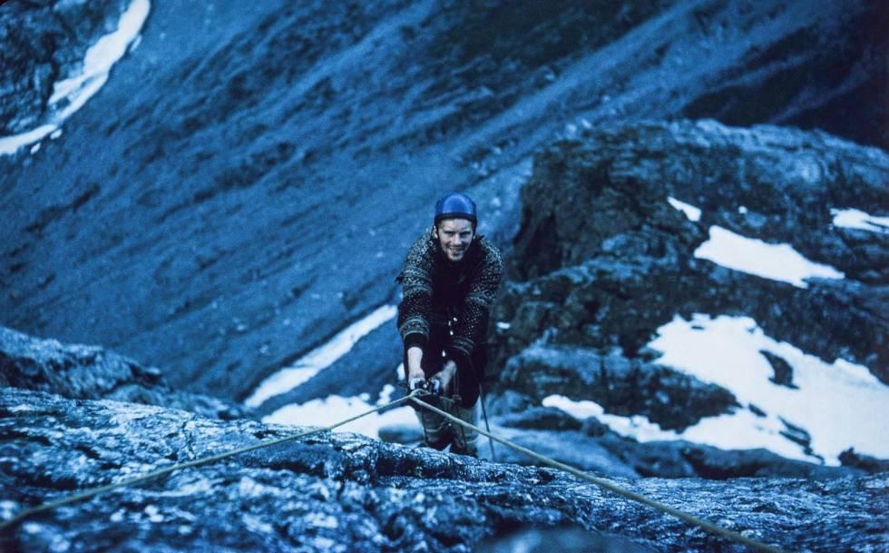 Trollveggen-1965-Klatring-7