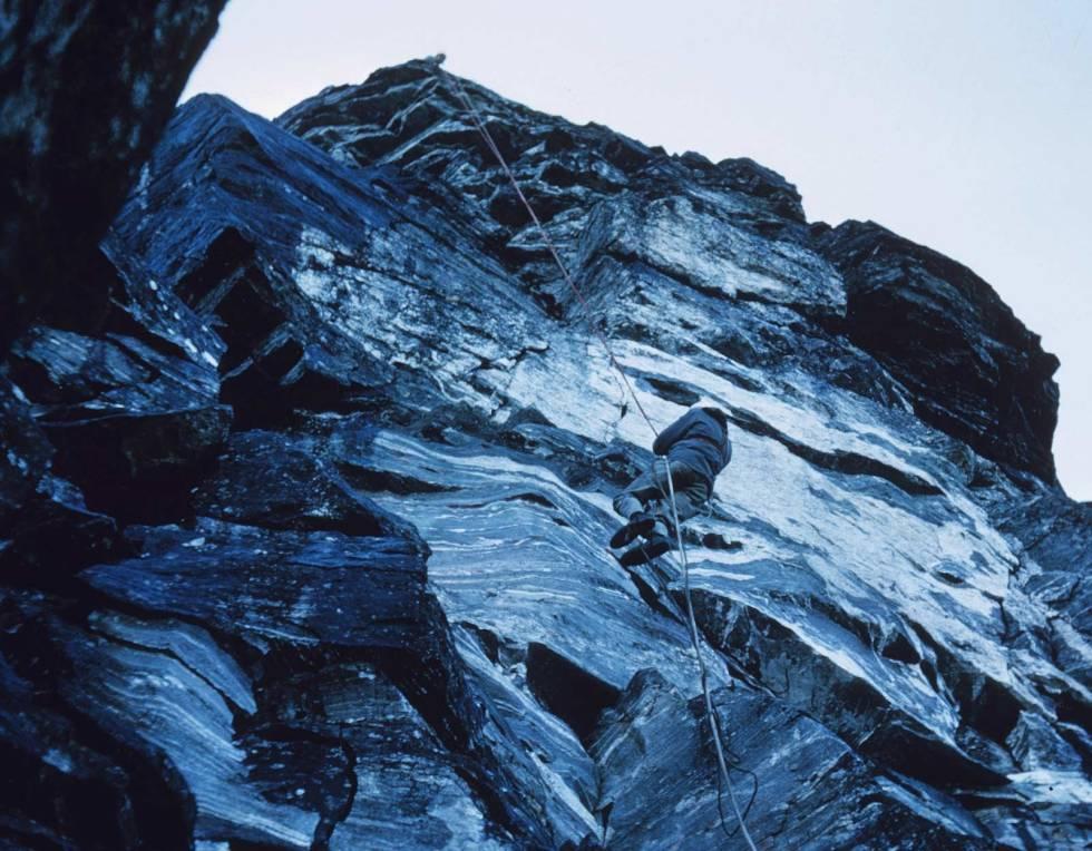 Trollveggen-1965-Klatring-8
