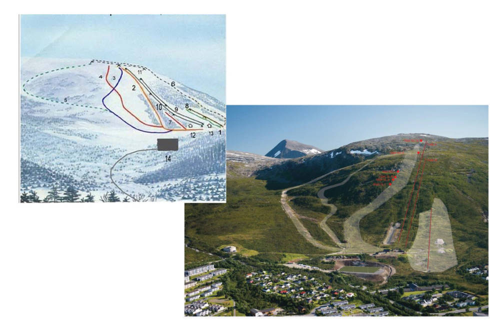 Løypekart Tromsø