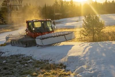 LANGRENNITRYSIL.6,5 kilometer med langrennsløyper for klassisk og skøyting klare, i tillegg til skiskytterarena, langrennscross- og skilekområde. FOTO: Fredrik Otterstad