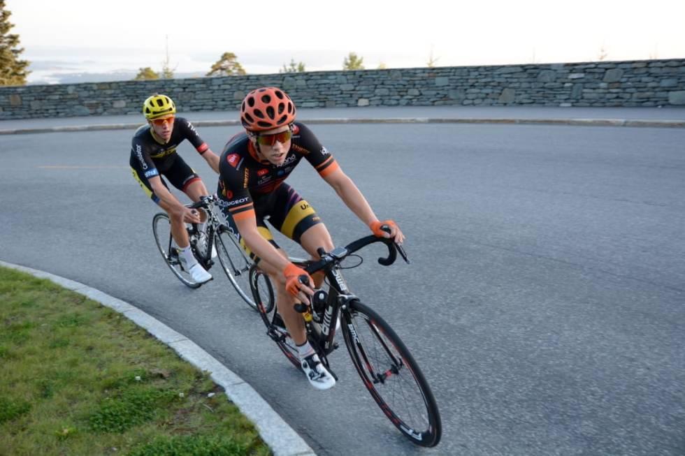 Carl Fredrik Hagen setter rekord i tryvann